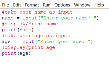How To Take User Input From Keyboard In Python